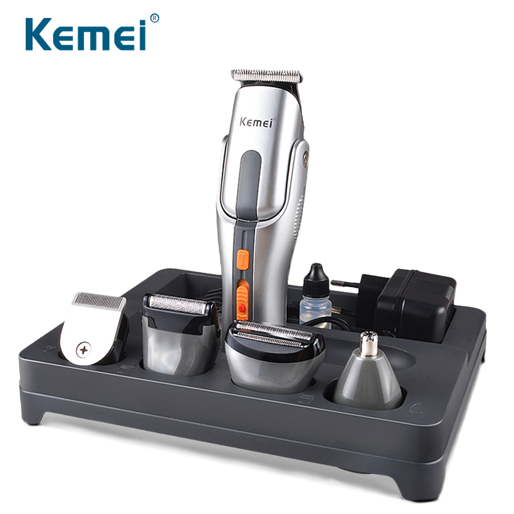 Kemei Multifunction New Cutter Electric Hair Clipper Rechargeable Hair Trimmer Shaver Razor Cordless Adjustable Clipper 680A 2016 new summer pep toe woman sandals platform thick heel summer women shoes hook