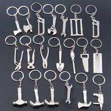 2017 Creative Tool Style Wrench Spanner Key Chain Car Keyring Metal Keychain Gift  недорого