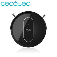 Cecotec Robot Vacuum Cleaner Conga Series 1290 Professional Electric Machine 4 in 1 Ideal for House Floor Cleaners Color Black