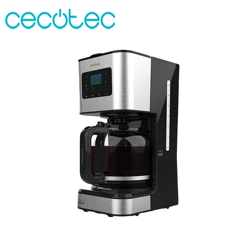 Cecotec Drip Coffee Coffee Smart Smart With 950W Of Power And A Capacity Of 1500ml And Timer Of 24 Hours Stainless Steel