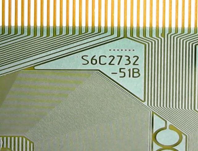 S6C2732-51B Nouveau TAB COF Module 5 pcs ou 10 pcs/lot