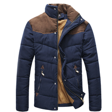 2017 hohe Qualität Heißer Verkauf Männer Winter Spleißen Cotton-Padded Mantel Jacke Winter Plus Größe