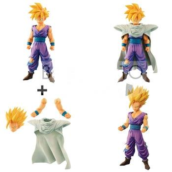 Original Banpresto action figure dragon ball Resolução de Soldados Grandista Coleção Figurals Son Gohan PVC modelo Brinquedos