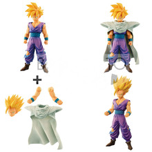 Original Banpresto action figure dragon ball Resolution of Soldiers Grandista Collection Figurals Son Gohan PVC model Brinquedos