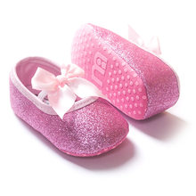 9bd5155c4de5 Hot sale baby girl shoes Fashion girl first walkers Bling baby girl shoes  for 0-12 month baby Gold Pink Silver hot pink colors