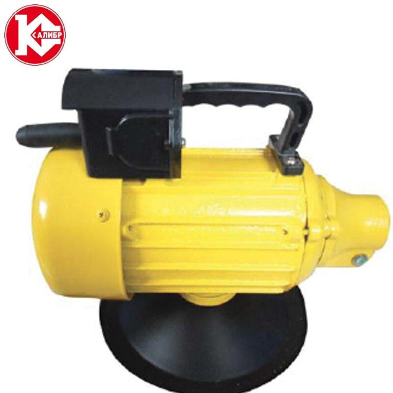 все цены на Kalibr VES-2200M Plug-in Cement Shaker Concrete Vibrator Construction Tools Simple to Handle Vibrating Pump 220V онлайн