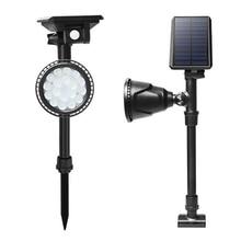 18LED solar light outdoor lighting on solar energy solar garden lights outdoor spotlights цена и фото