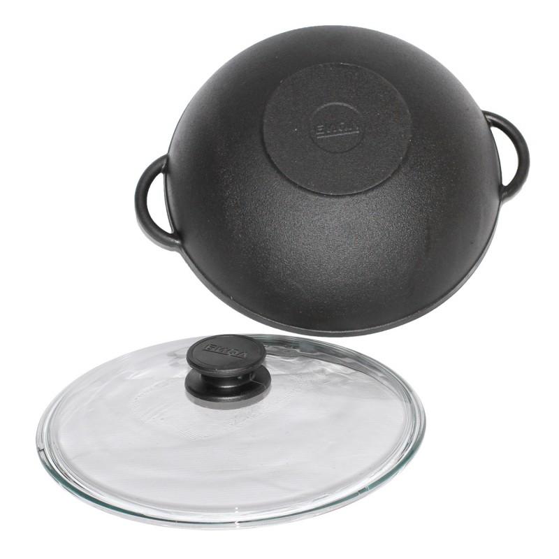 Frying Pan Cauldron Cast Iron With Pot Cower Hand   Grill  Coffee Pot Bowler Pan Frying Pan Mug 0526/28/30C