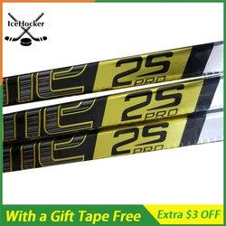 100% palo de Hockey sobre hielo de carbono Supreme 2 S con cinta gratis SR/INT/JR con agarre ligero 420g envío gratis