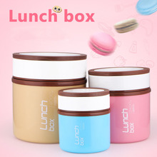 1200ml Thermal Bento Lunch Box Thermos For Food Stainless Steel Insulation Storage Food Container Dinnerware Sets Christmas Gift