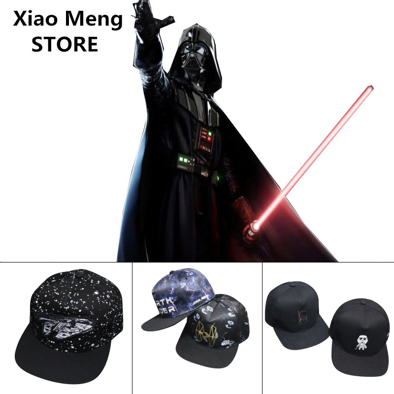 9 Style Star Wars Baseball Cap Hat Unisex Brand Cotton Adjustable Embroidery Snapback Caps For Men Women Hip-Hop Hats Gorras M78 cacuss new metal anchor baseball cap men hat hip hop boys fashion solid flat snapback caps male gorras 2017 adjustable snapback