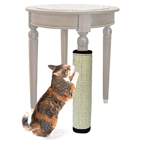 TINGHAO Pet Cat Kitten Scratching Pad Mat Board Natural Sisal Scratcher Post Pole Toy ...