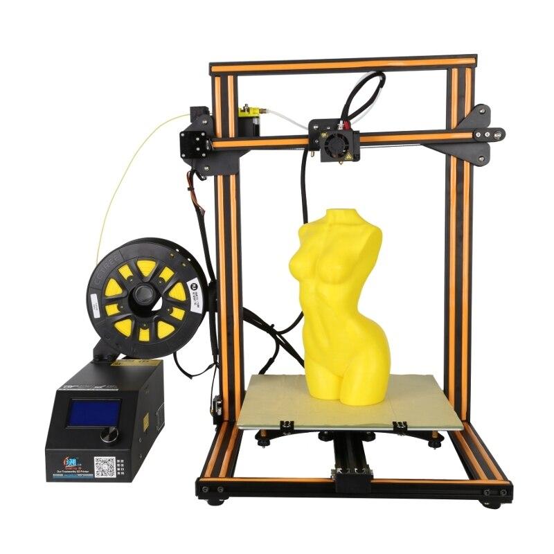 Upgrade CR-10S DIY 3D Printer Kit 300*300*400mm Printing Size Z-axis 1.75mm Filament Diameter EU Plug flsun 3d printer big pulley kossel 3d printer with one roll filament sd card fast shipping