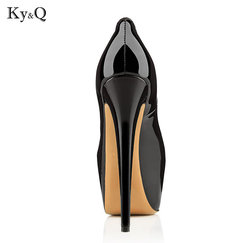 Haute De Cuir Chaussures 2018 Sexy Pu Nouveau black Femme En Apricot Plate Peep Stiletto Mode À Talons forme Toe Design D'été Femmes Hauts wEgEAq