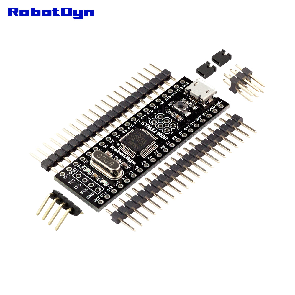STM32F103CBT6 128KB STM32, Bootloader Compatible For Arduino IDE Or STM Firmware, ARM Cortex-M3 Mini System Development Board