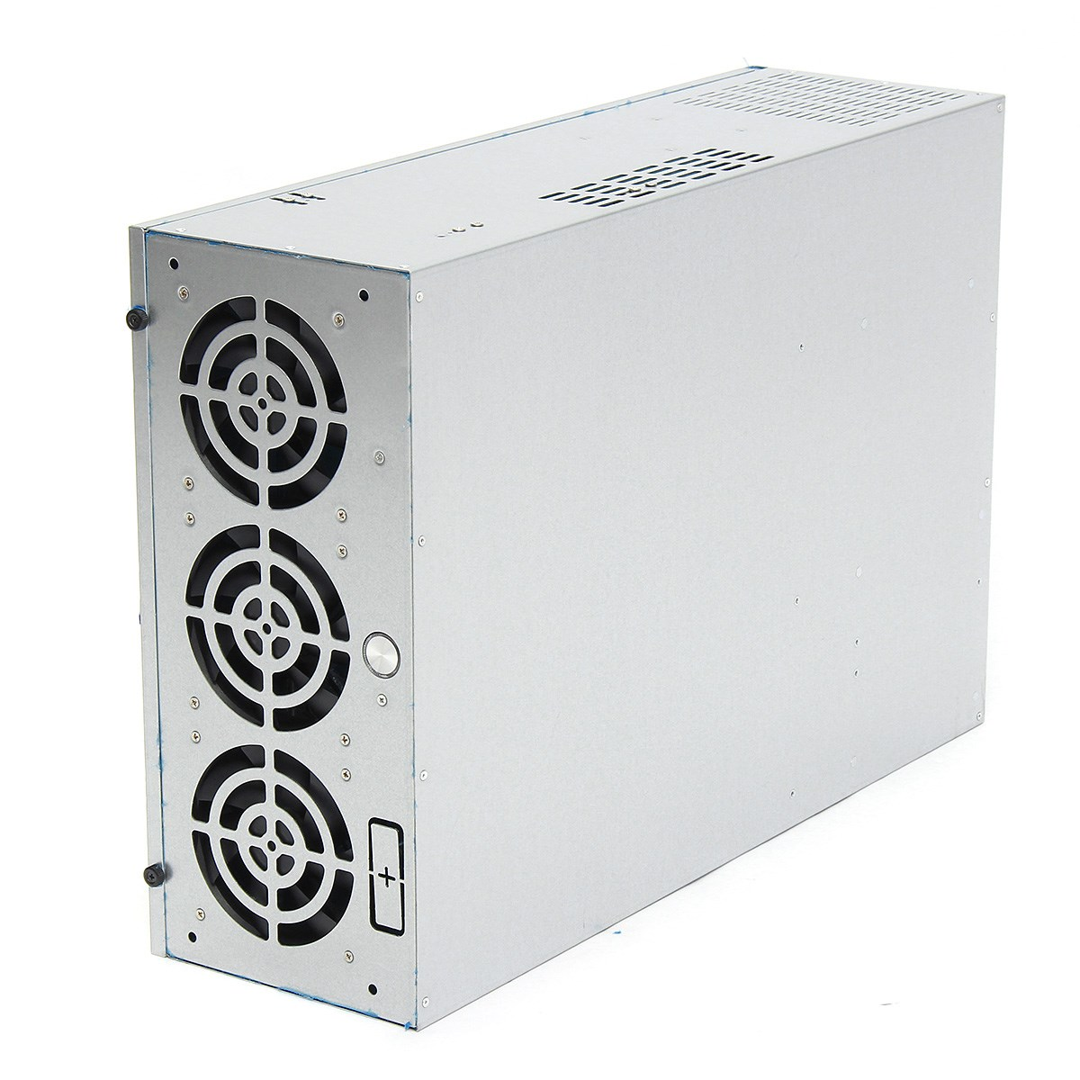 все цены на 4U Mining Machine Mining With Fan Frame Rig Graphics Case For 6/8GPU Power Supply онлайн