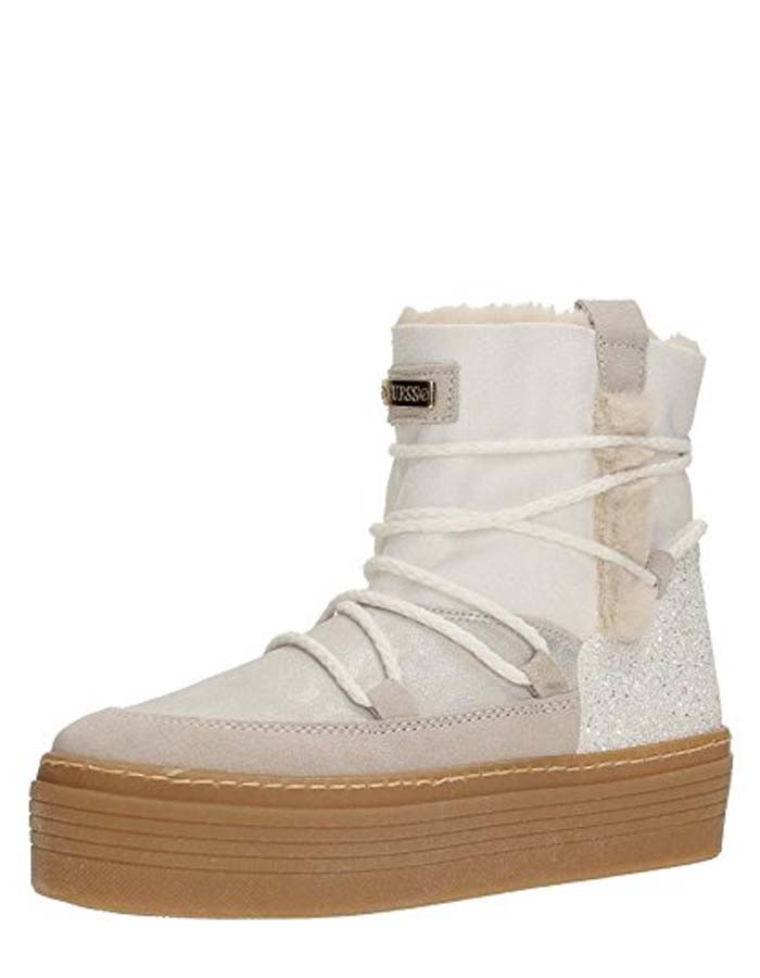 Guess boots white fur CLAUDIA-in Ankle Boots from Shoes on Aliexpress.com  0cd6368b6ed8