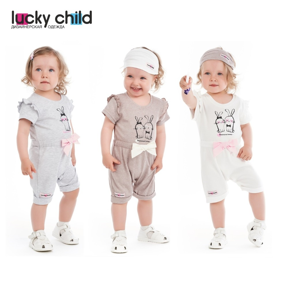 Jumpsuit Sandpiper Lucky Child for girls 56-28 Children's Baby Kids Overalls clothes rompers lucky child for girls 0 28 romper baby jumpsuit kids overalls children clothes
