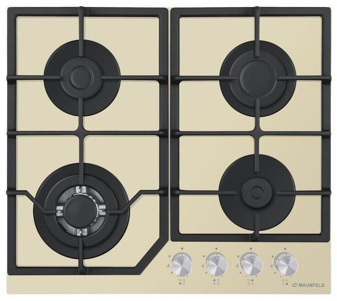 Gas cooking panel Maunfeld EGHG.64.43CBG/G cooking panel maunfeld eghg 64 2cb g black