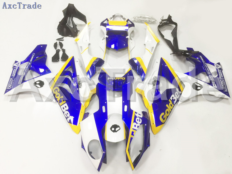 Motorcycle Fairings For BMW S1000RR S1000 2009 2010 2011 09 10 11 ABS Plastic Injection Fairing Bodywork Kit White Blue A101 motorcycle radiator grille guard protector dirt for bmw s1000rr s 1000 rr s1000 rr abs k46 2009 2010 2011 2012 2013 2014 2015