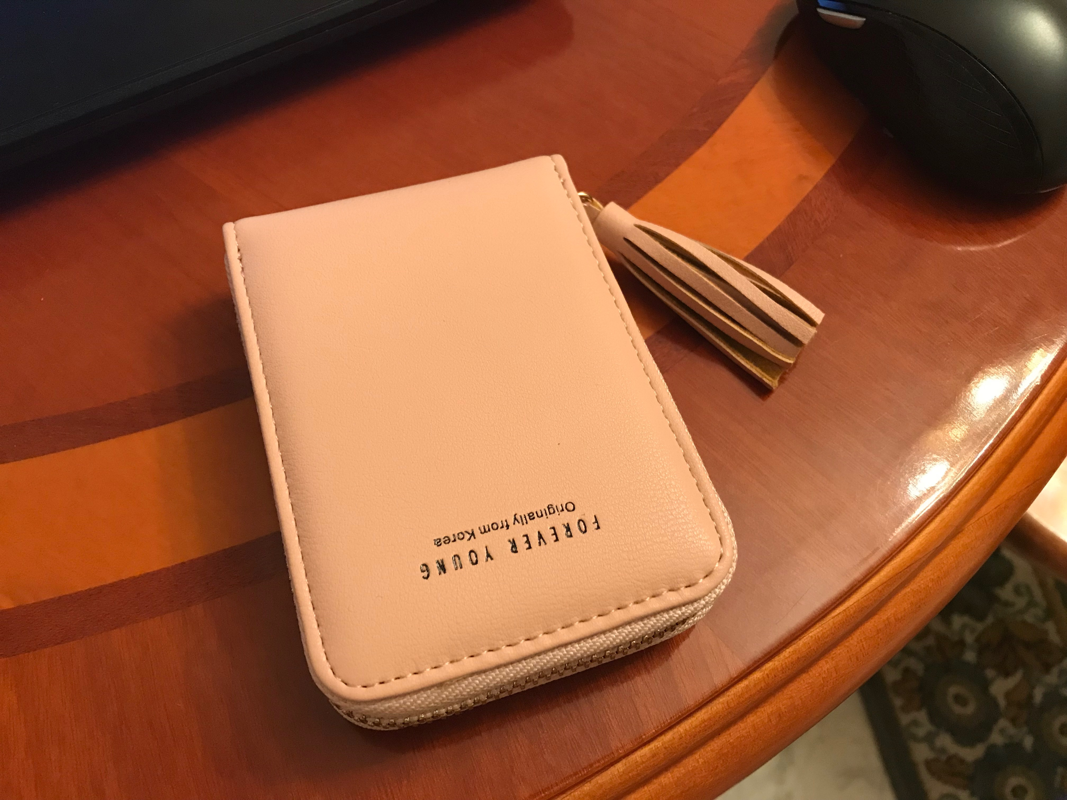 WEICHEN Tassel Women Card Wallet High Quality Leather Card Holder Brand Ladies Card Case Female Cards Keeper id Credit Organizer photo review