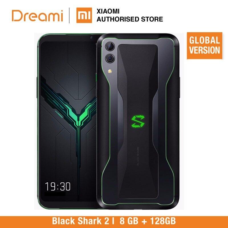 Requin noir 2 128 GB Rom 8 GB Ram Shadow noir (tout neuf et boîtier scellé)