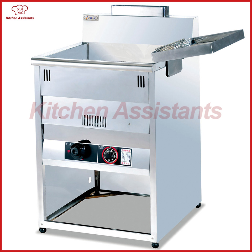 GF5G Vertical Gas Temperature Controlled Fryer