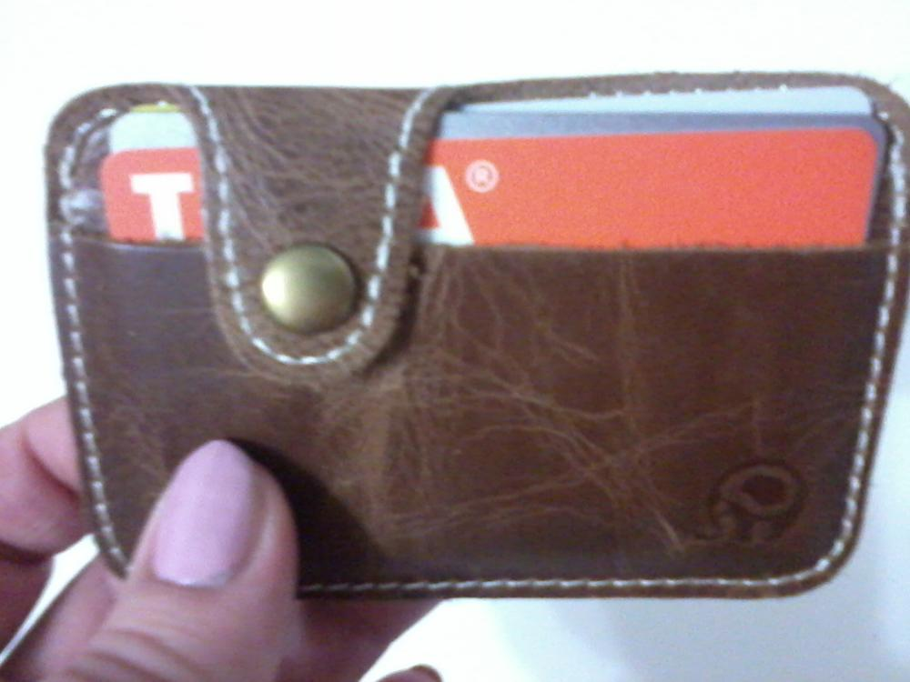 20108 Hot Sale Fashion Money Clip Slim Credit Card ID Holder Wallet Money Cash Holder Artificial Leather Material portemonnee #Y photo review