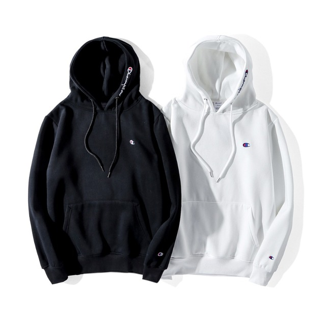 ba1ff191 Champion hoodie black and white Japanese style street brand...-in ...