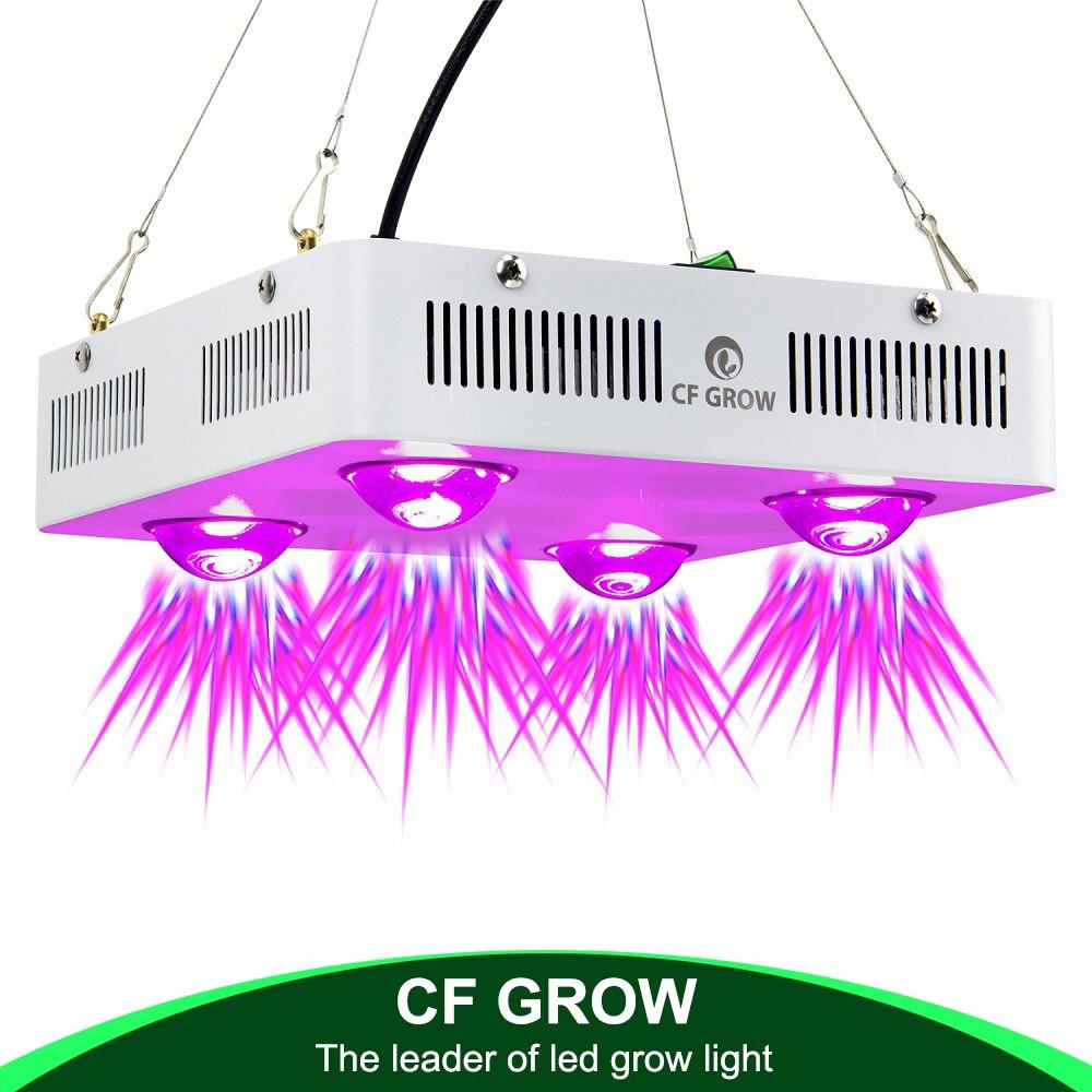 CF расти 300 Вт 600 Вт УДАРА светодиодный светать полный спектр Крытый гидропонное парниковых роста растений освещения заменить НЛО растет лам