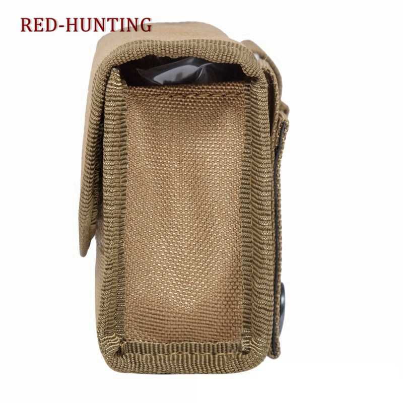 10 Rounds Bullet Pouch Military Hunting Molle Ammo Carrier Pouches Outdoor Tactical Mini Rifle Accessory Bag