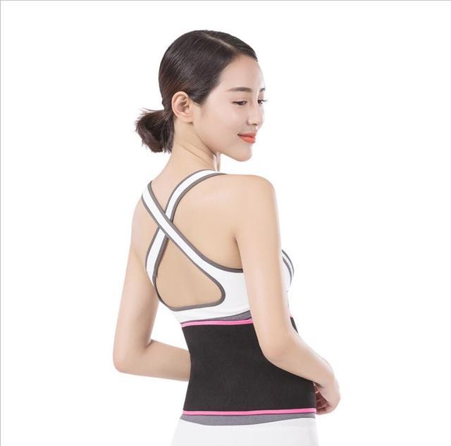 Professional Waist Trimmer Sports Gym Sweat Belt Premium Waist Support For Men And Women Universal Black Neoprene Fitness 2