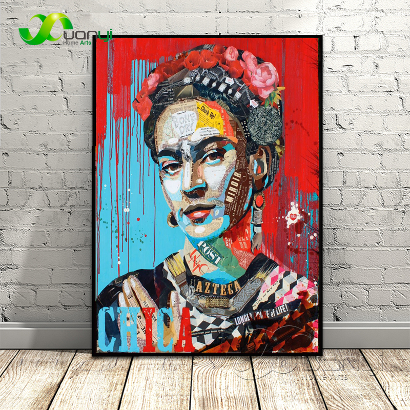 Hot Sale Artist Frida Kahlo Poster Painting Wall Art Picture Cuadros