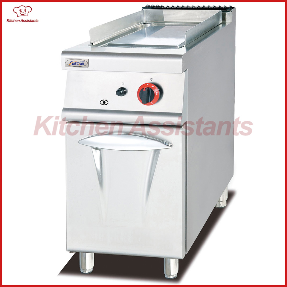 GH776 Gas Griddle with Cabinet(ALL Flat) of catering equipment gh787a gas range with 4 burner with gas oven of catering equipment