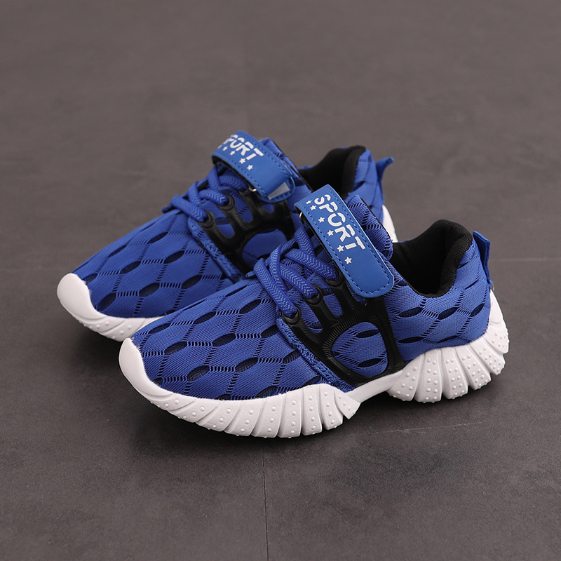 Kids Boys Sneakers Children Sports Mesh Air Breathable Thicker Running Fashion Outdoor Boys Casual School Shoes 2017
