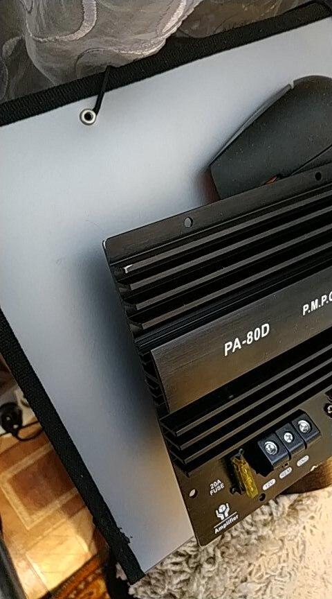аудио усиления; Мощность 1000Вт усилитель; усилитель 5Вт; спикер subwoof;