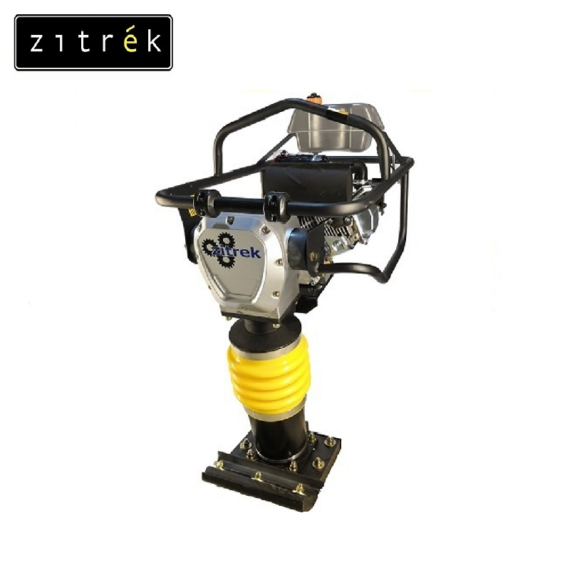 Vibrotrambovka Zitrek CNCJ 80 K-2 (Honda GX160,5,5 hp 77 kg) Soil tamper Vibratory plate Plate compactor Vibrating board original plate yd07 lj41 02248a lj41 02249a buffer board