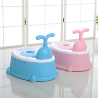 Baby Three Styles Multifunctional Potty Portable Plastic Child Potty Toilet Training Seat For Boys Girls Child Urinal Infant