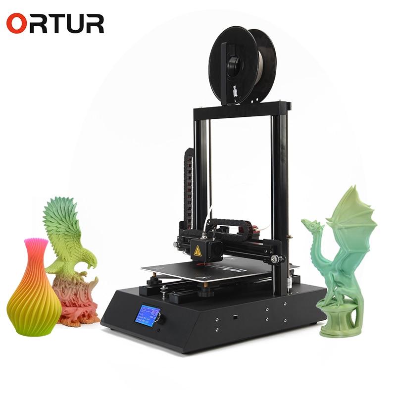 Ortur4 24V Safe Power Supply Impresora 3d Upgraded on Marlin 2.0 3d Metal Printer 16GB SD Card 10m PLA as Gift Best Stampante 3d