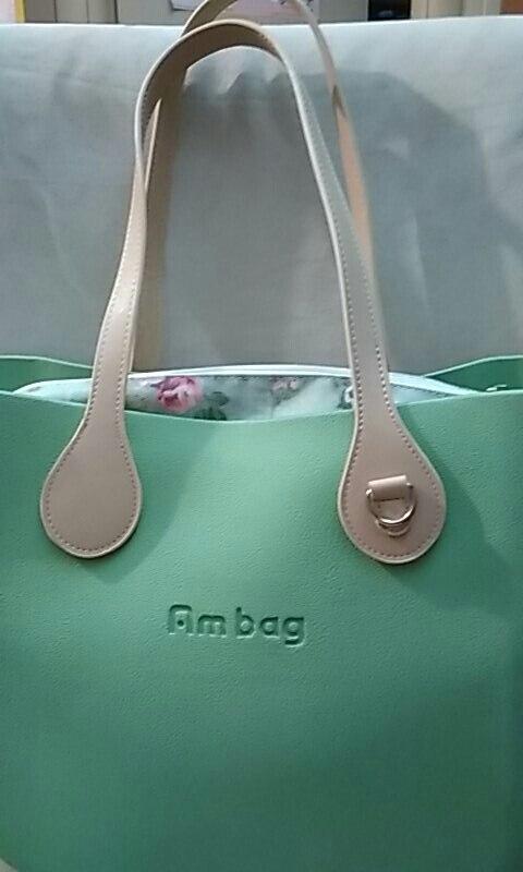 Tanqu Long 68cm Randschildering D Gesp Ronde Traan Einde Grepen Kunstleer Handvatten voor OBAG Ketting Hanger voor EVA O Bag photo review