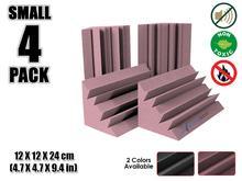 Arrowzoom 4,7 «x 4,7» x 9,4 «Мини угловой бас-ловушки студия пенопластовая панель Звукопоглощающая акустическая обработка