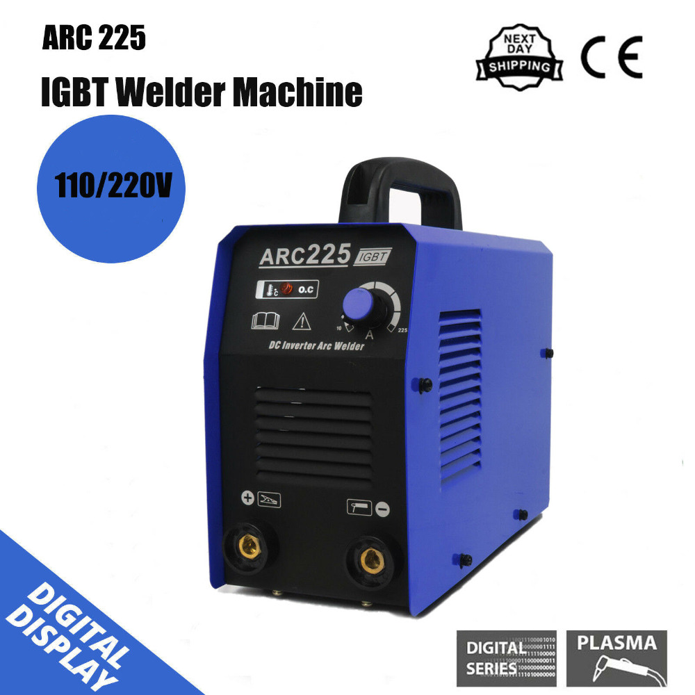 MMA <font><b>ARC</b></font> inverter IGBT 220V DC portable welder welding machine DIY image