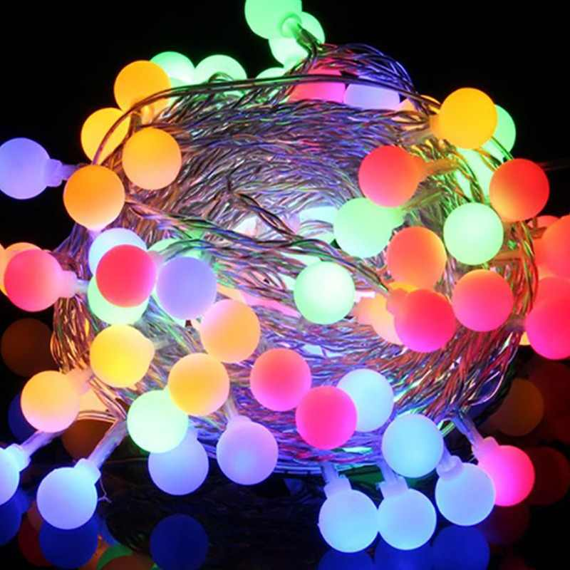 LED String Lights 6M/40LEDS Ball Lights Battery Powered Starry Fairy String Party Lights  Garden, Christmas Tree, Wedding