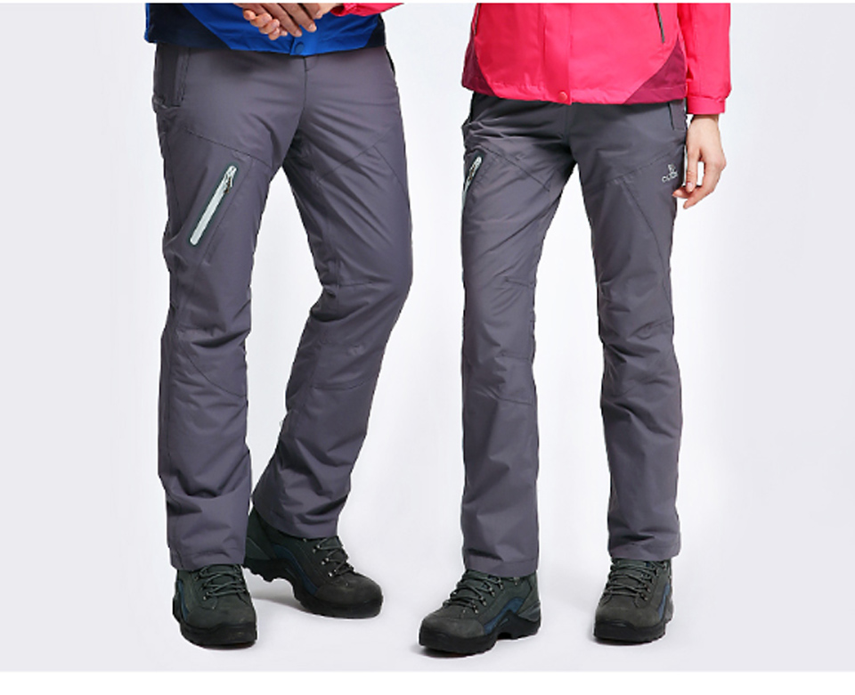 CAMELSPORTS Men/'s Fleece Lined Hiking Pants Waterproof Warm Softshell Pants Windproof Snow Ski Cargo Pants for Outdoor
