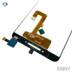 Image 5 - شاشة Lcd كاملة 5.2 بوصة لـ الكاتيل A5 LED 5085 5085Y 5085D تجميع شاشة LCD تعمل باللمس لشاشة الكاتيل 5085 قطع غيار الشاشة