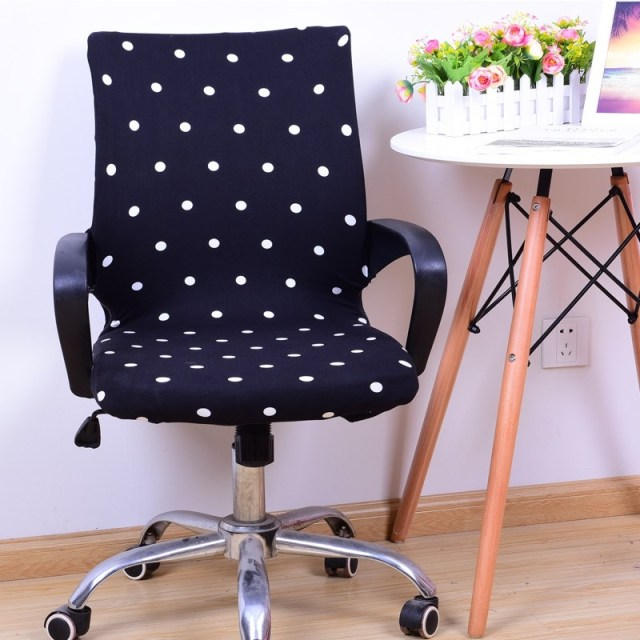 stretchable spandex office chair cover slipcover armrest cover seat rh aliexpress com desk chair covers dorm desk chair covers springfield mo