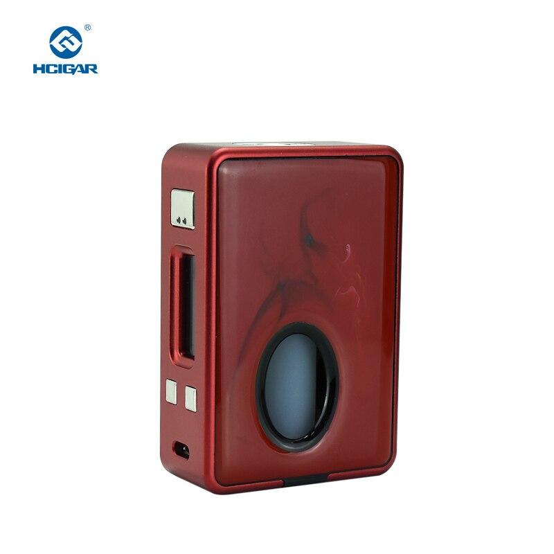 Originale HCIGAR VT casella di posta elettronica V3 Squonk Mod BF di Uscita 1-75 w Vaporizzatore DNA75 Chip di Potenza 18650 Batteria Mini squonker E-Sigaretta Mod