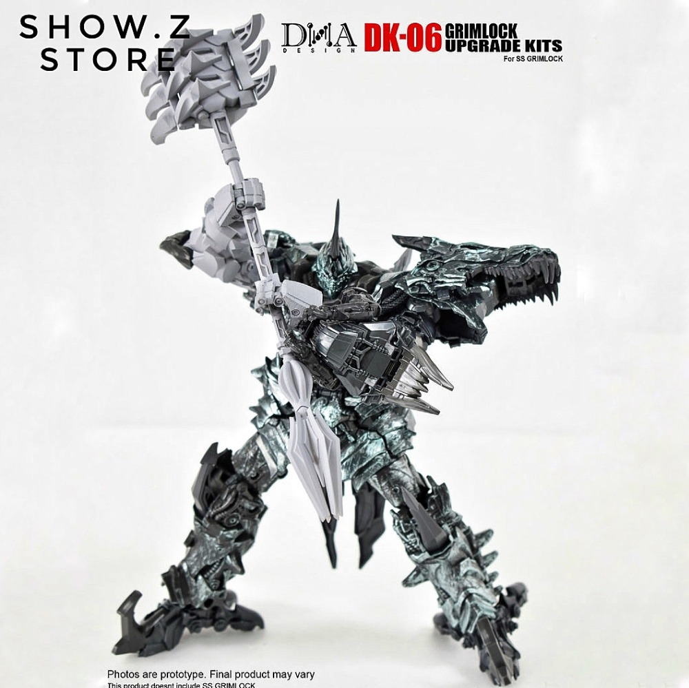 [Show.Z Store] DNA Design DK-06 SS07 Grimlock Upgrade Kit Transformation Action Figure[Show.Z Store] DNA Design DK-06 SS07 Grimlock Upgrade Kit Transformation Action Figure