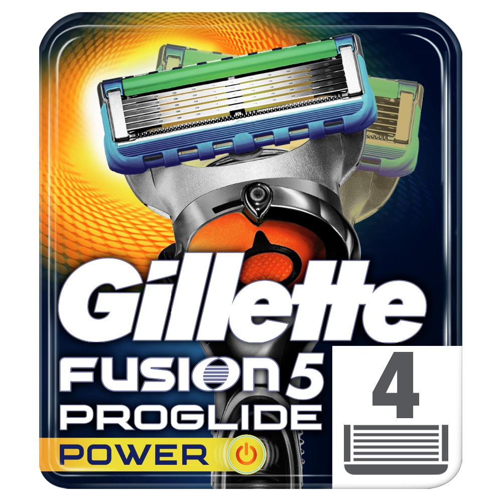 Replaceable Razor Blades for Men Gillette Fusion ProGlide Power Blade shaving 4 pcs Cassettes Shaving  Fusion shaving cartridge replaceable razor blades for women gillette venus spa breeze 4 pcs cassettes shaving venus shaving cartridge
