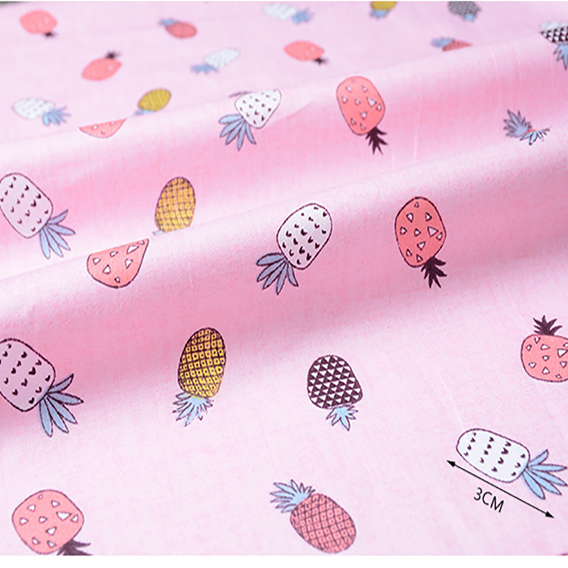 Smart Electronics Initiative New Arrival 100% Cotton Sateen Fruits Print Fabric For Quilting Sewing For Dress,baby&children Sheet,pillow,cushion,toys